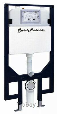 Swiss Madison SM-WC424 Dual Flush 0.8-1.28 GPF In-Wall Toilet Tank Only