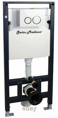 Swiss Madison SM-WC424 Dual Flush 0.8-1.28 GPF In-Wall Toilet Tank Only 2x4