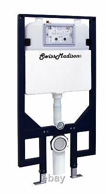 Swiss Madison SM-WC424 Dual Flush 0.8-1.28 GPF In-Wall Toilet Tank Only N/A