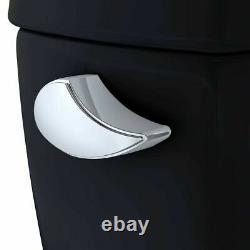 TOTO Eco Drake Two-Piece Round 1.28 GPF Toilet, Ebony CST743E#51