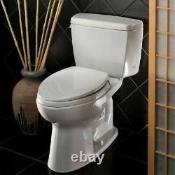 TOTO Eco Drake Two-Piece Toilet 1.28 GPF, Elongated, Sedona Beige TOTO