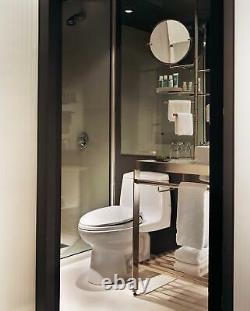 TOTO MS854114EL Eco UltraMax One Piece Elongated 1.28 GPF Toilet White