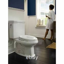 TOTO Promenade Two-Piece Round 1.6 GPF Universal Height Toilet, Cotton White