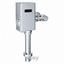 TOTO TET1GA32 Exposed, Top Spud, Automatic Flush1.6 GPF Flushometer Chrome