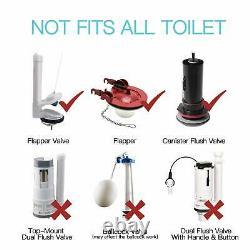 Techo Touchless Toilet Flush Kit with 8 Sensor Range Adjustable Sensor Range