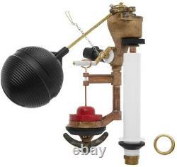 Toilet Tank Float Flush Valve Kit Genuine KOHLER Part Solid Brass Valve 1-Piece
