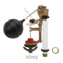 Toilets Float/Flush Valve Kit Brass Diaphragms Corrosion Resistant 1-Piece