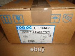 Toto Tet1dncs-32 Toilet Automatic Electronic 1.6 Gpf Flush Valve Exposed
