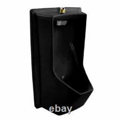 Toto UE930#51 Lloyd Urinal with Electronic Flush Valve-ADA, Ebony Black READ