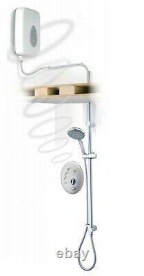 Triton T300si 10.5kw Wireless Digital Electric Shower Flush Fitting Ceiling Fed