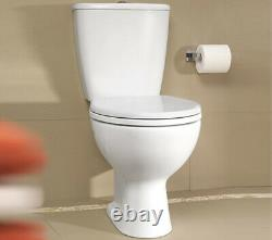 Twyford Alcona Close Coupled WC Pan And Cistern 640mm Horizontal Outlet Toilet