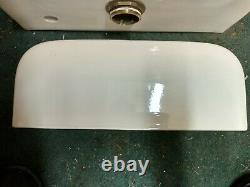 Vintage 1930's Elger Flush Ell Toilet With Standard Tank and Lid