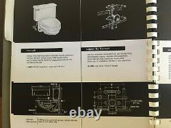 Vintage 1960 American Standard Norwall Wall Hung Toilet Surf F 2090-1