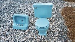 Vintage Toilet Sink Combination