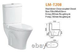 Washdown-closet- two-piece Toilet (S TRAP) LM-T208