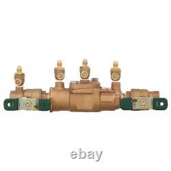 Watts Toilet Flush Valve Backflow Preventer Assembly 3/4 in. Bronze FPT x FPT