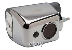 Zurn Zerk-cpm Chrome Plated Metal Toilet Auto Flush Retrofit Battery Powered